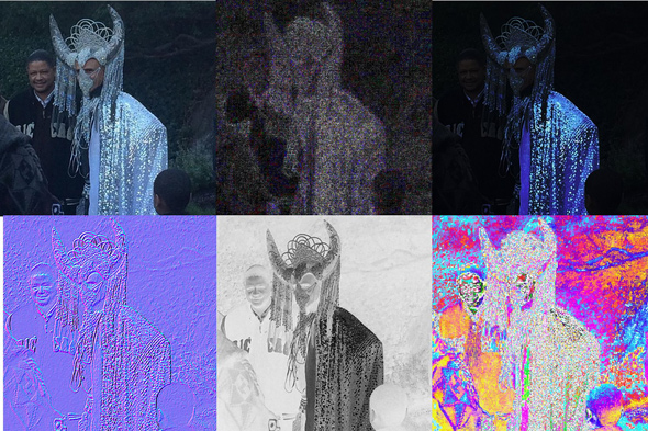 no evidence that the image has been tampered with