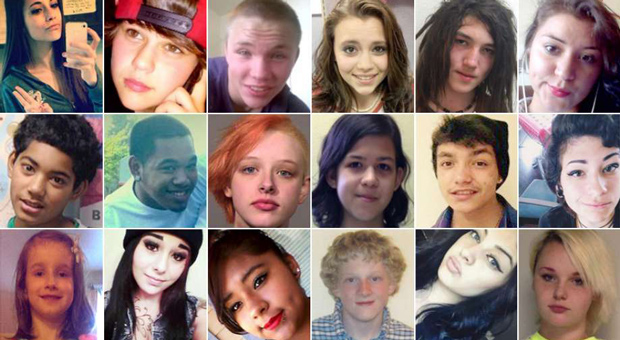 over a dozen children have been reported missing in march alone
