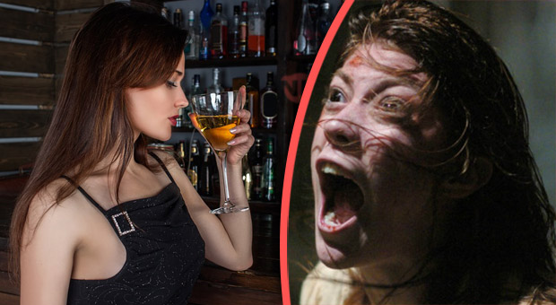 research study concludes that alcohol can cause demonic possession