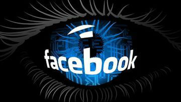 facebook also looks at all the other websites you visit and stores that data