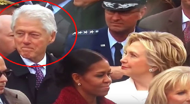 the video below shows bill clinton  checking out ivanka trump
