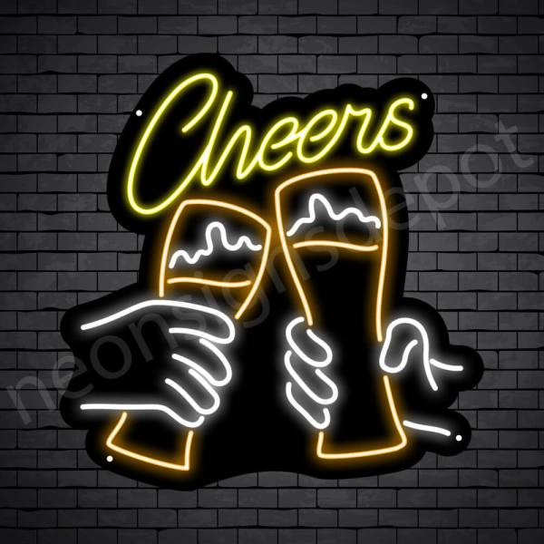 Beer Neon Sign Cheers -23x24