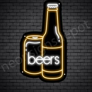 Beer Neon SigBeer Neon Sign Can Beer 14x24n Can Beer 17x30