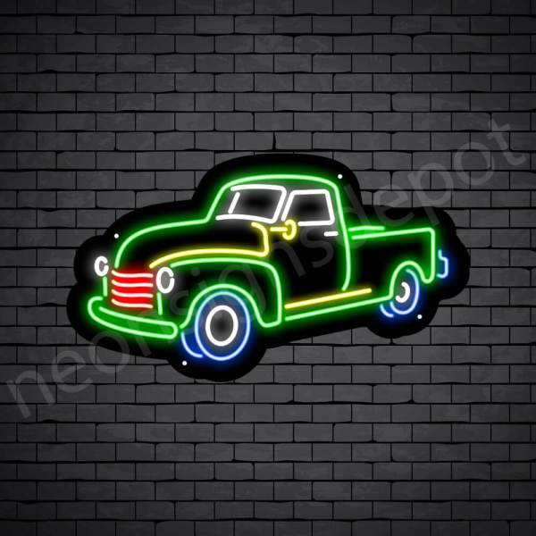 Car Neon Sign Ford Pick Up