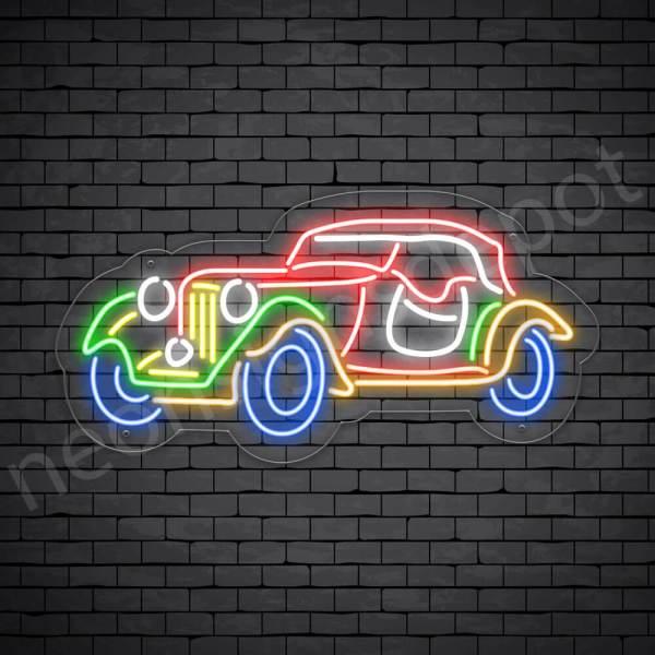 Car Neon Signs Magic Car Transparent - 24x12