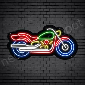 Motorcycle Neon Sign Motor Bike Style 24x12