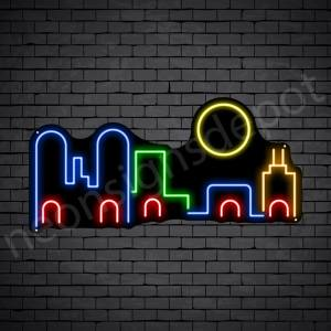 Unmask City Neon Sign