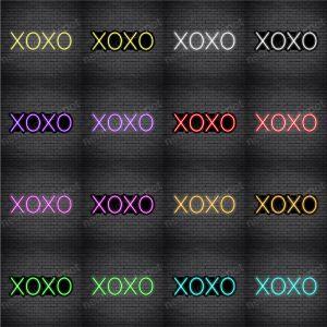 Simple Xoxo Neon Sign