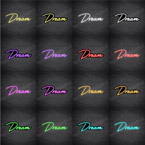 Dream V2 Neon Sign