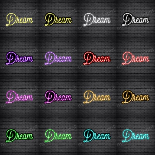 Dream V5 Neon Sign