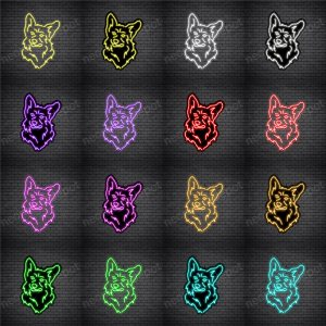 Corgis Dog V5 Neon Sign