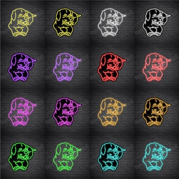 Pit Bull V2 Neon Sign