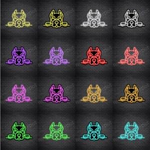 Pit Bull V3 Neon Sign