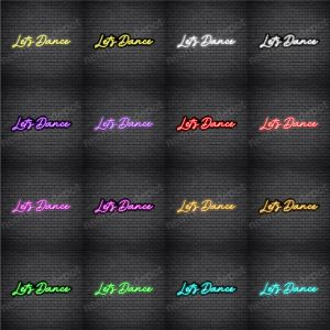 Let's Dance V1 Neon Sign