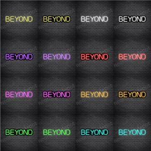 Beyond V3 Neon Sign