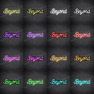 Beyond V5 Neon Sign