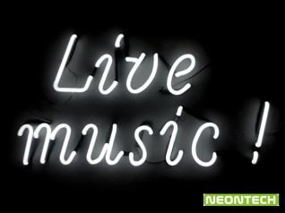 live music neon