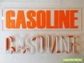 gasoline neon