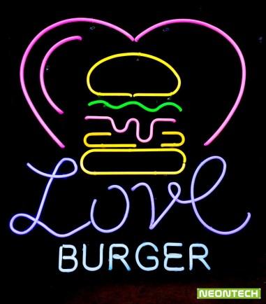 loveburgerneon