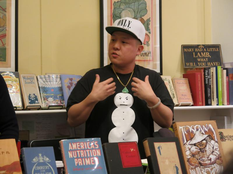 "Celeb chef and ""Fresh Off the Boat"" memoir author, Eddie Huang. (Gary Stevens/Flickr Creative Commons)"