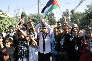Palestinian prisoners can protest their detention in very few ways, one of which is refusing to eat. (Grassroots Al Quds Network, Creative Commons)