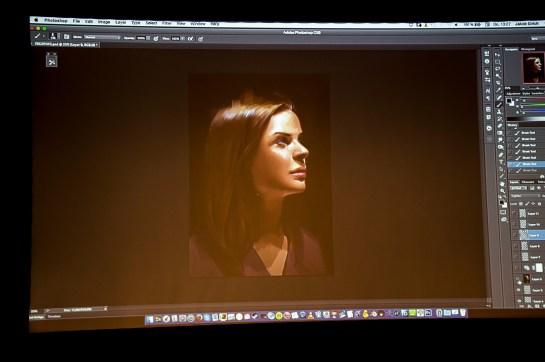Live Demo with Jana Schirmer, Portrait in 2 hours