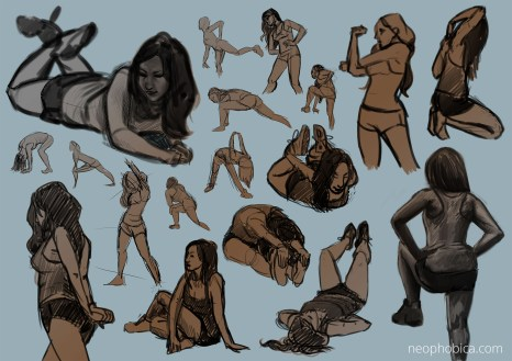 sketchgroup session: morning moves