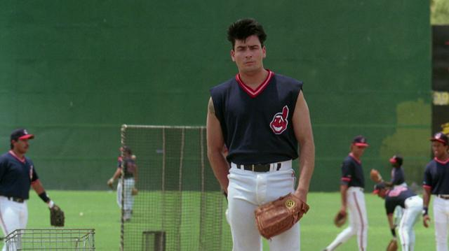 Has Done His Best Wild Thing Impression With New Haircut In Toronto This Week Rick Vaughn Played By Charlie Sheen