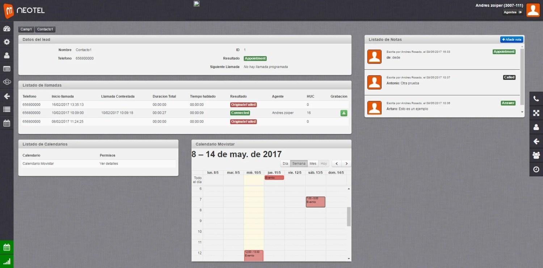 Neotel - Google Calendar
