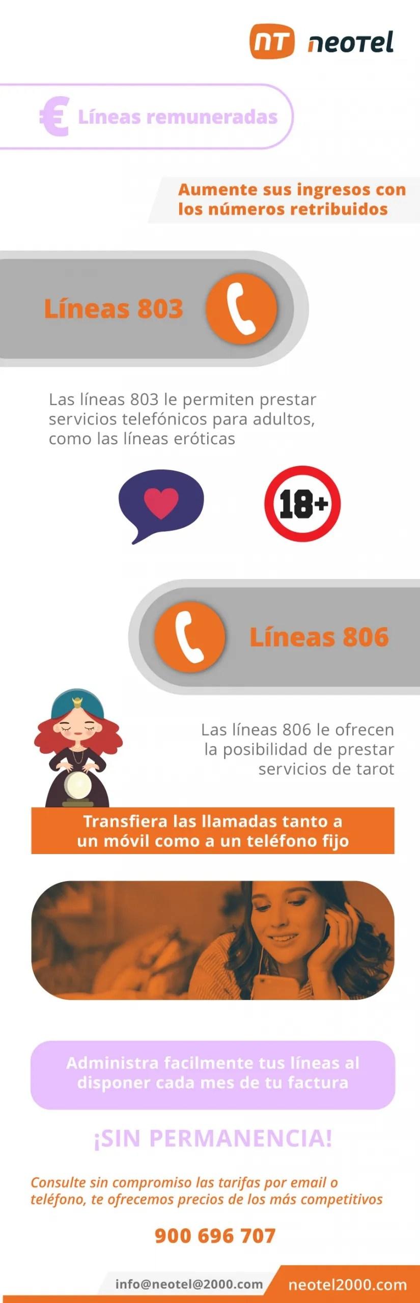 líneas 806 y líneas 803