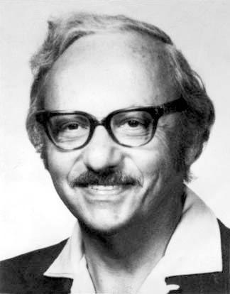 Foto de George B. Dantzig, padre de la programación lineal con su algoritmo simplex.