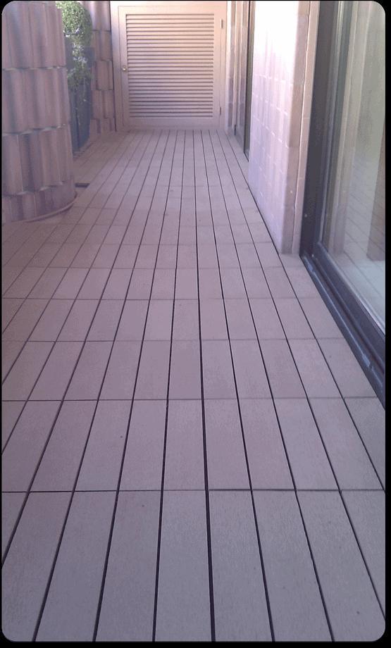 baldosas de madera compuesta para terrazas y jardines with baldosa terraza