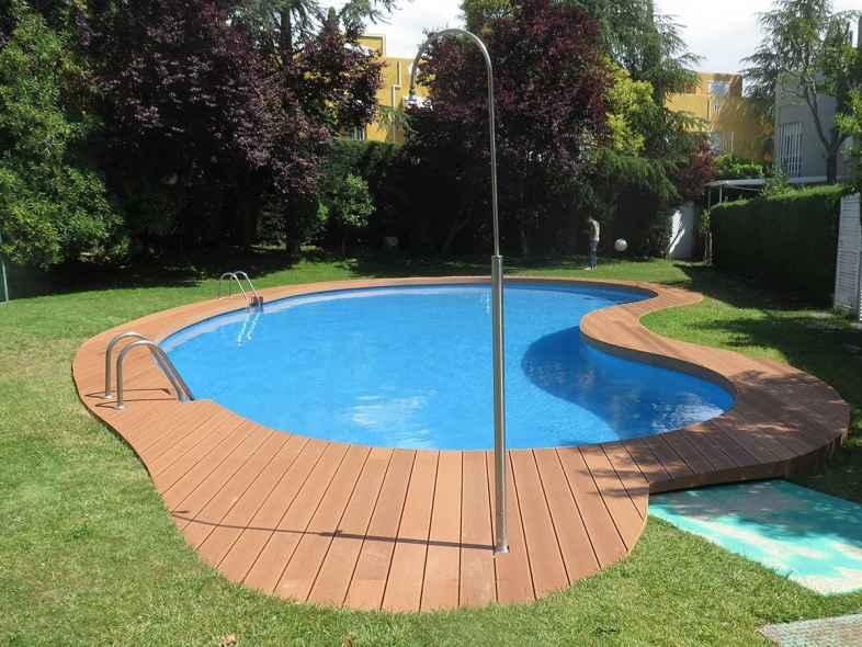 tarima exterior piscina
