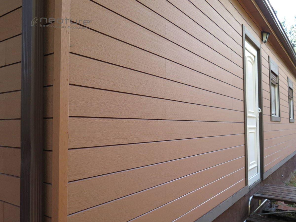 Revestimientos de paredes - Imitacion madera para fachadas ...
