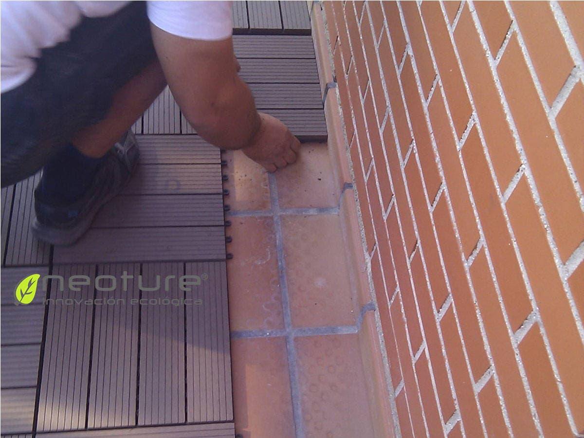 Instalar baldosas madera tecnol gica 3 preguntas frecuentes for Baldosas de terraza exterior