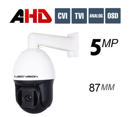מצלמת אבטחה ממונעת 5MP AHD PTZ