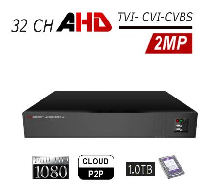 מכשיר הקלטה AHD 32CH 2MP