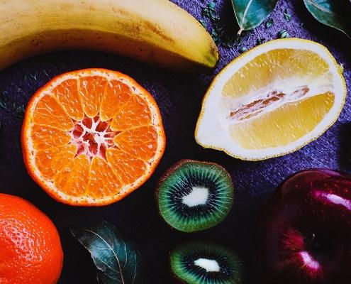 Frutta e verdura per gli occhi: mangiamone di più - Arancia, Limone, Kiwi, Mela, Banana