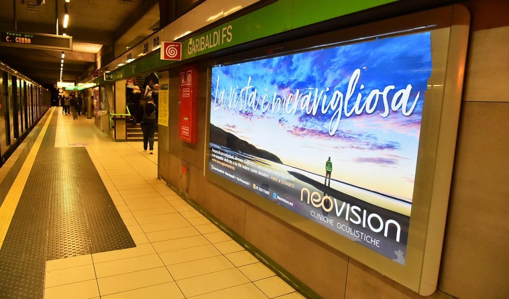 La Vista È Meravigliosa: la nuova campagna Neovision a Milano