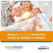 Cataratta: visita oculistica LUCE E COLORI - Cofanetto Regalo su Amazon by Neovision Cliniche Oculistiche