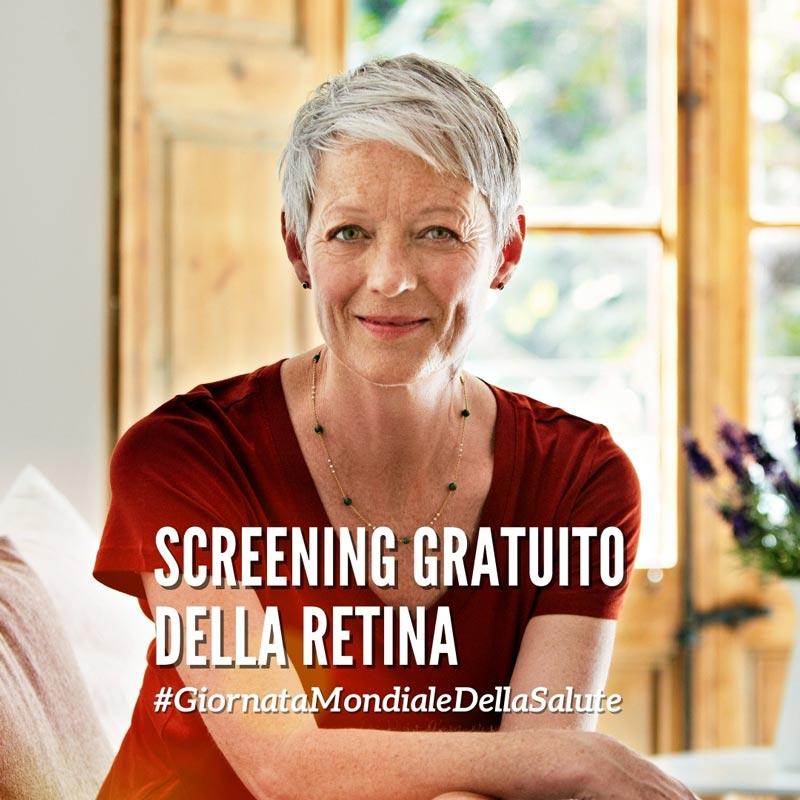 Screening Gratuito della Retina - Neovision Cliniche Oculistiche