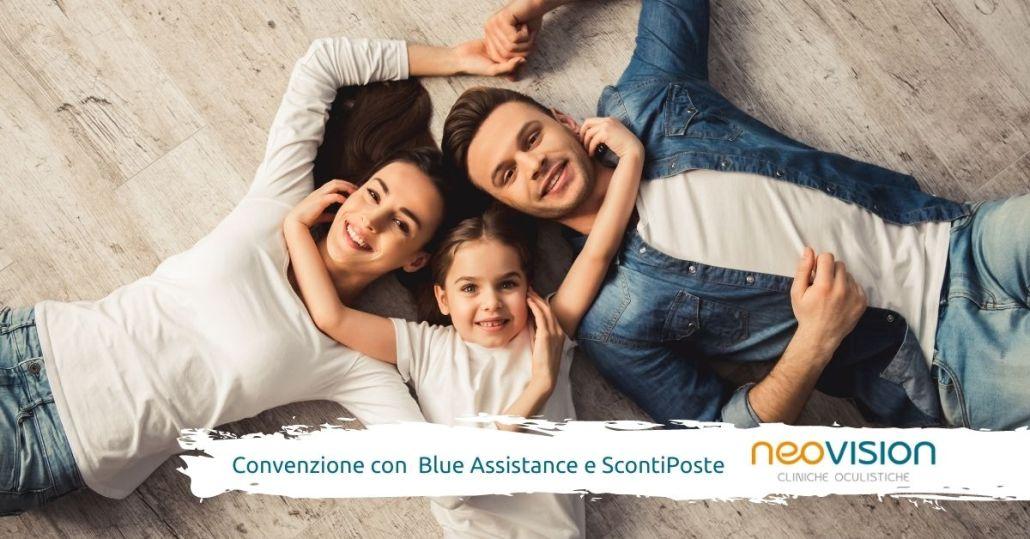 Convenzione Oculista Blue Assistance e ScontiPoste