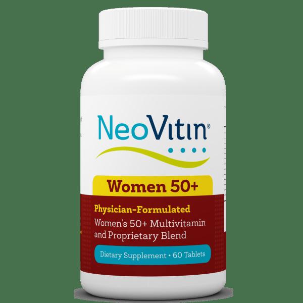 NeoVitin Womens 50 Plus Multivitamin Bottle Front