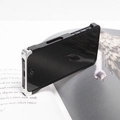 COREMECHATEC MOBiCRAB メタルバンパー for iPhone5(ブラック+シルバー) RX-IP5MB-BKSL