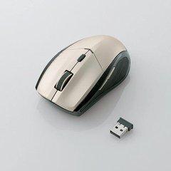 [ELECOM(エレコム)] IRマウス/省エネ/無線/5ボタン/ゴールド M-IR02DRGD