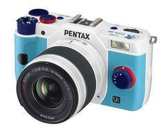 PENTAX Q10 エヴァンゲリオンモデル TYPE00 : レイ