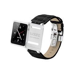 iWatchz Timepiece Collection - Black Leather CS3674