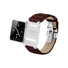 iWatchz Timepiece Collection - Dark Brown Leather CS3673