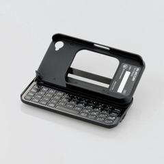 [ELECOM(エレコム)] iPhone用ポップアップ式ワイヤレスキーボード TK-FBI033BK