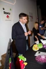 The Roku Rep with Angry Birds Plush Toys